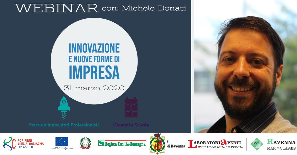Webinar: Innovazione e Nuove Forme di Impresa