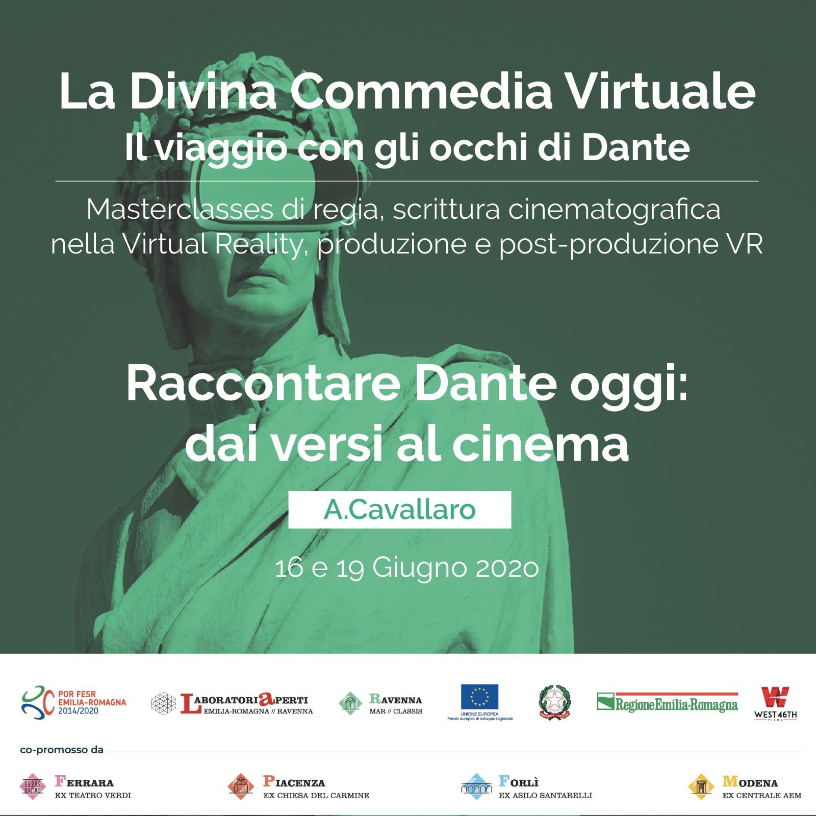 La Divina Commedia Virtuale -Raccontare Dante oggi: dai versi al cinema