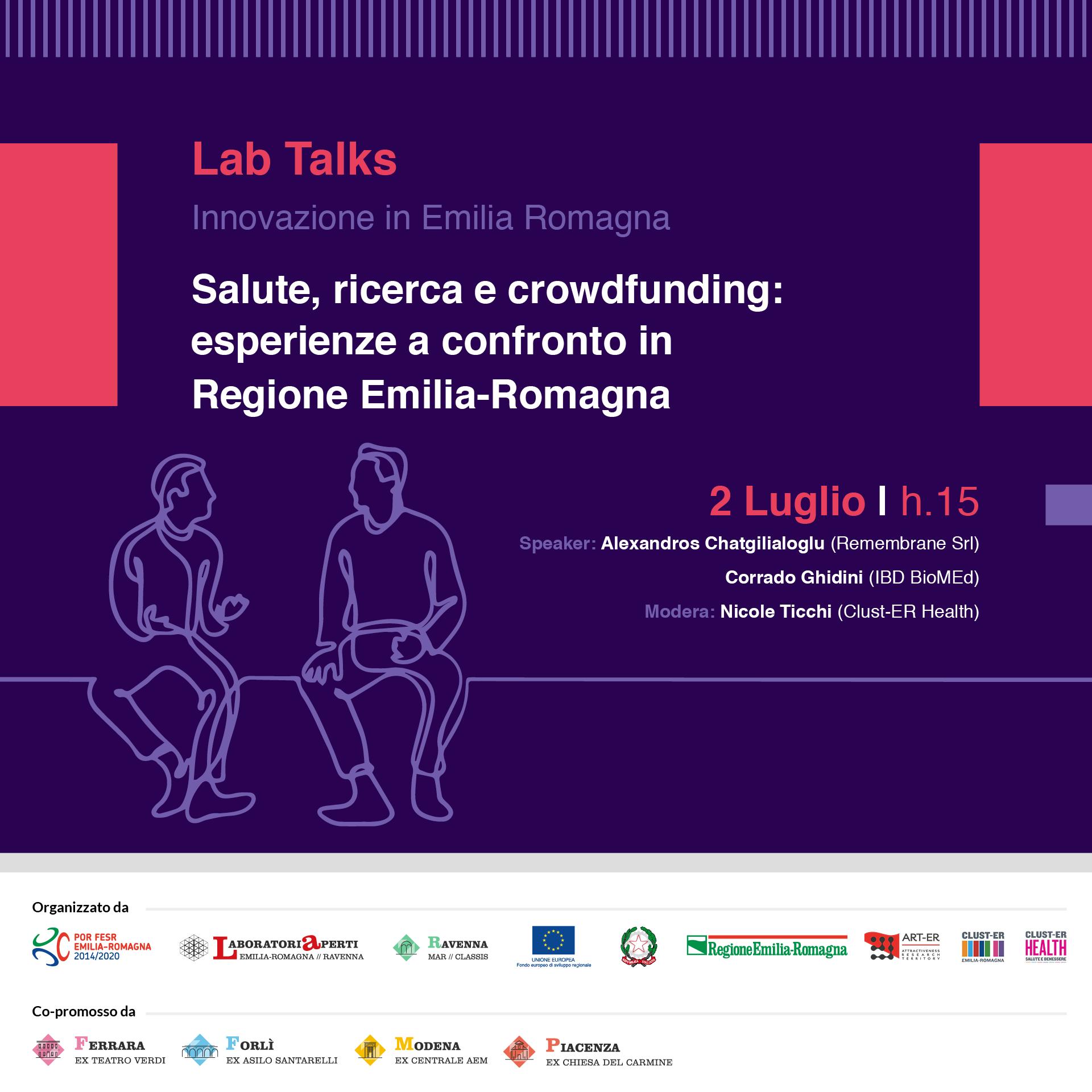 Salute, ricerca e crowdfunding: esperienze a confronto in Emilia-Romagna