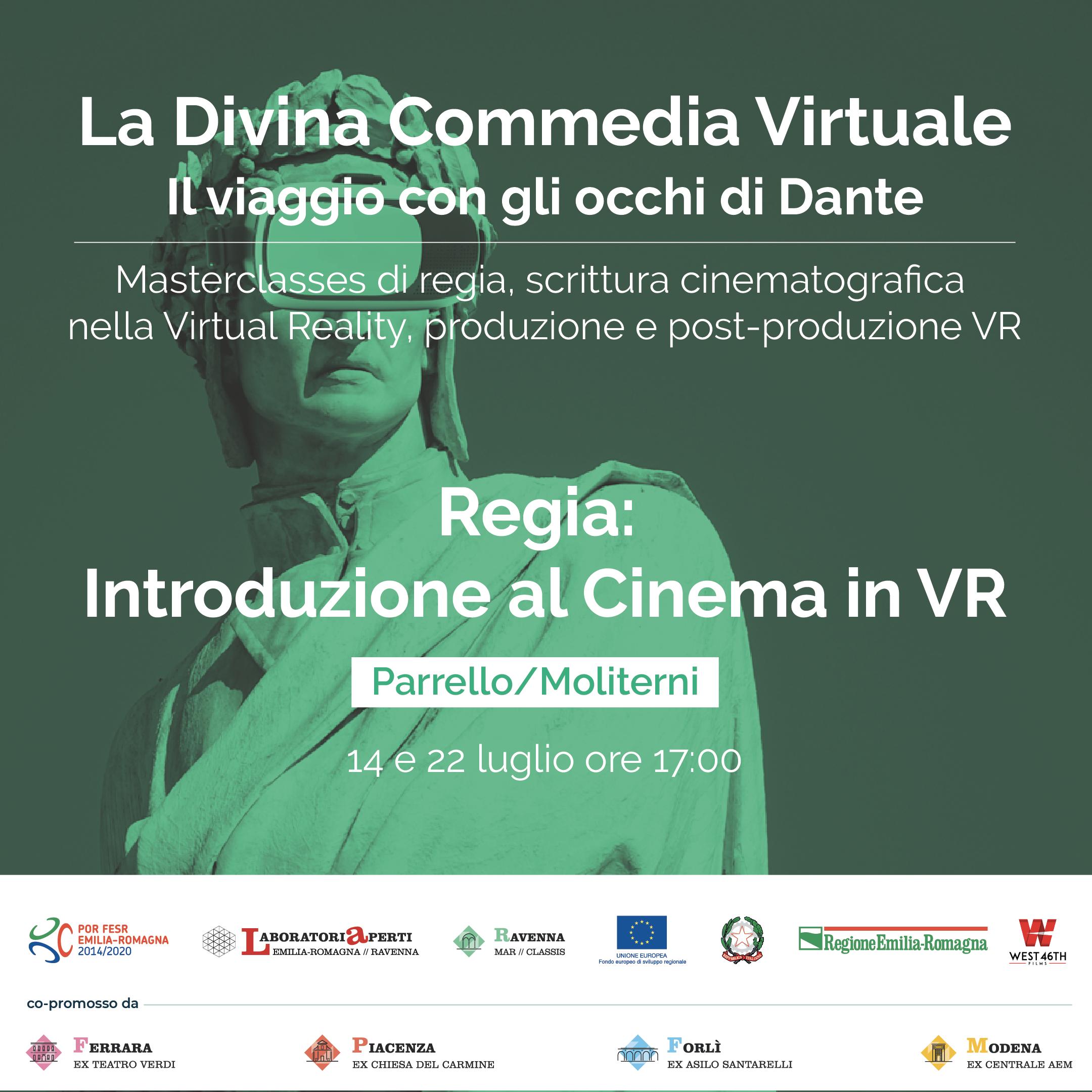 REGIA: INTRODUZIONE AL CINEMA IN VR