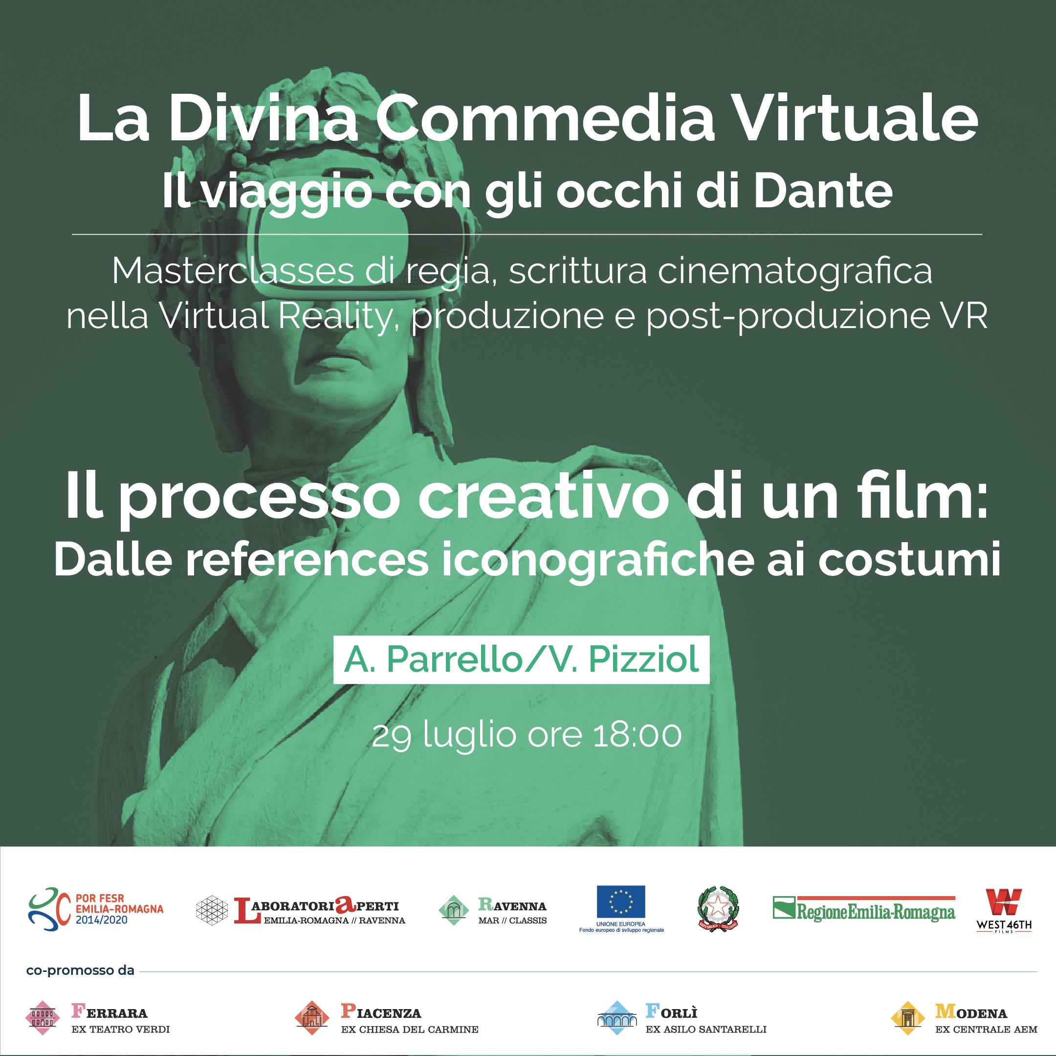 IL PROCESSO CREATIVO DI UN FILM: DALLE REFERENCES ICONOGRAFICHE AI COSTUMI
